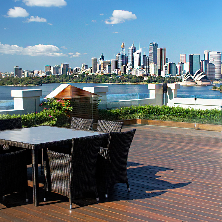 Rooftop Oasis - Cremorne Point